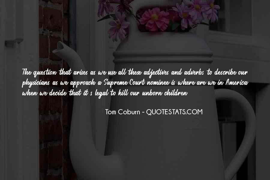 Coburn Quotes #356740