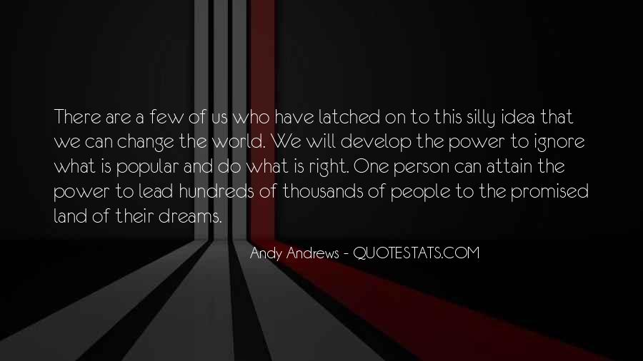 Quotes About The Power Of Your Dreams #140947