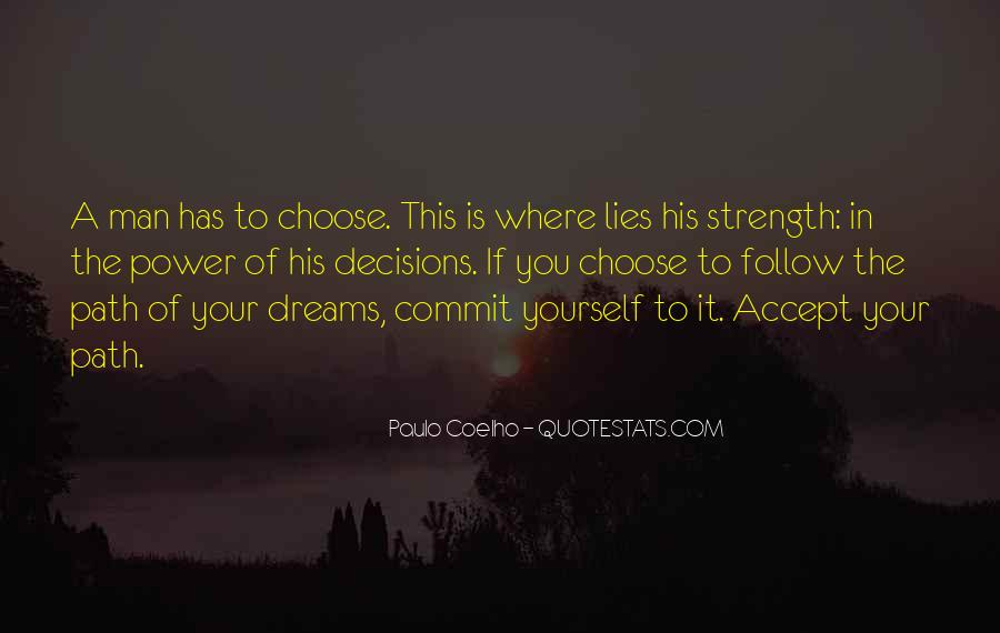 Quotes About The Power Of Your Dreams #1618798