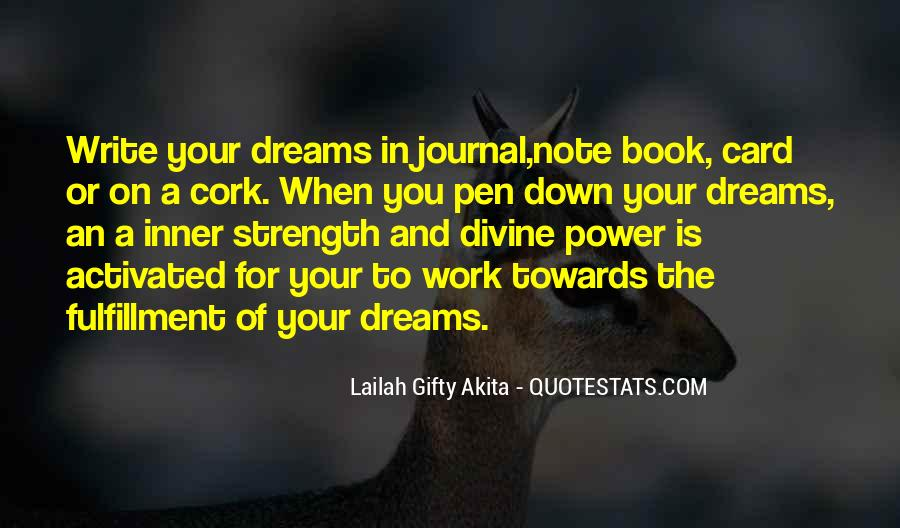 Quotes About The Power Of Your Dreams #699066