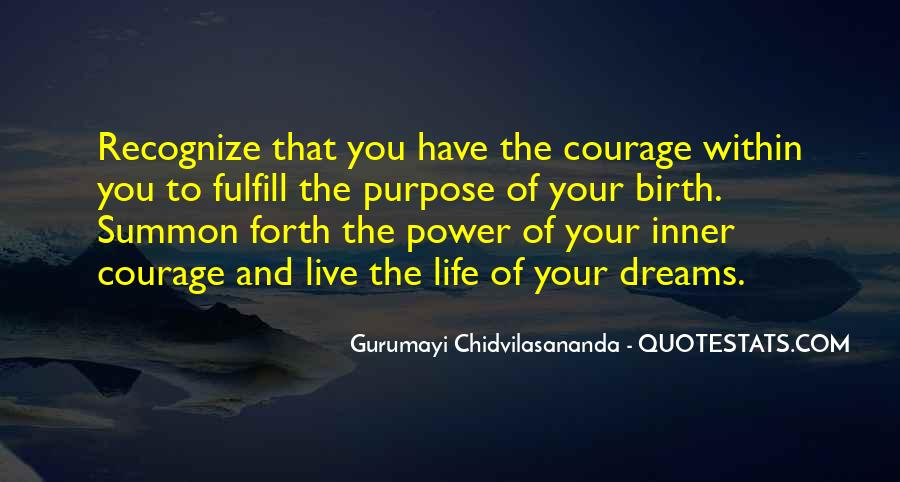 Quotes About The Power Of Your Dreams #739616