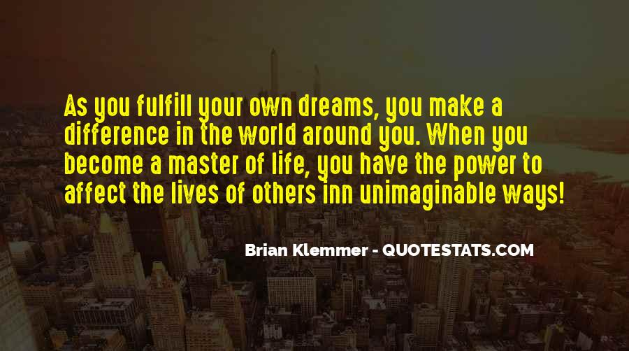 Quotes About The Power Of Your Dreams #868788