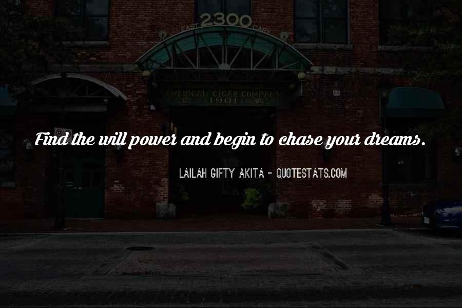 Quotes About The Power Of Your Dreams #909625