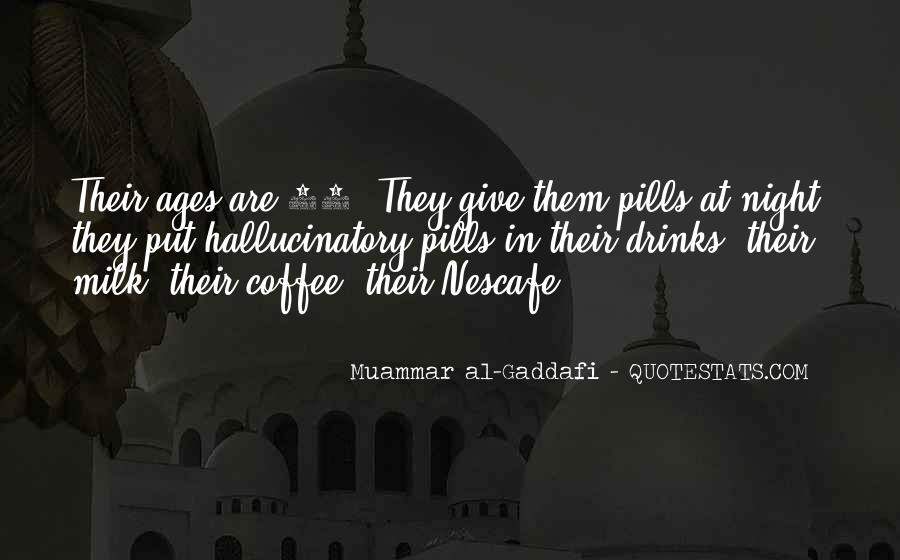 Coffee Drinks Quotes #1596844
