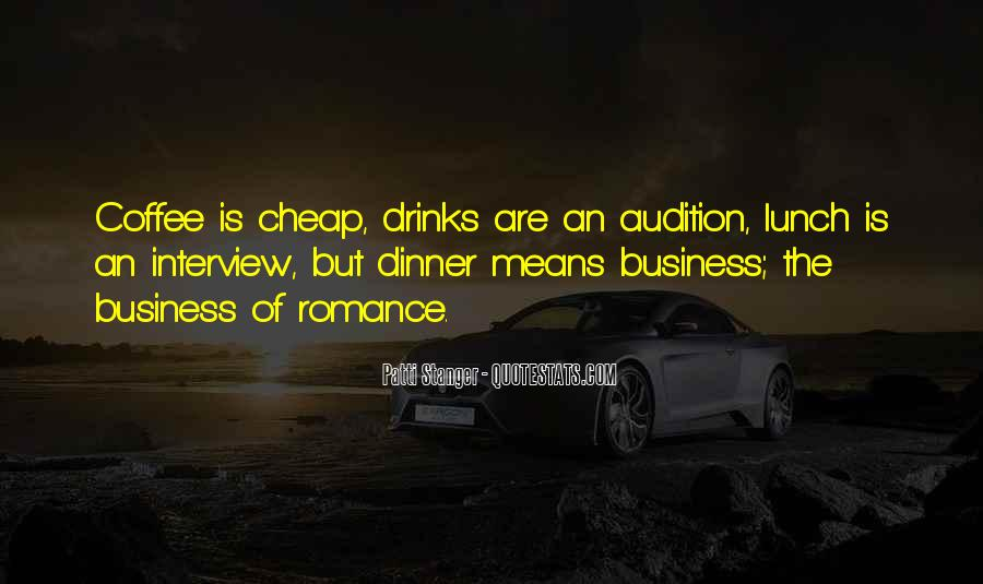 Coffee Drinks Quotes #958439