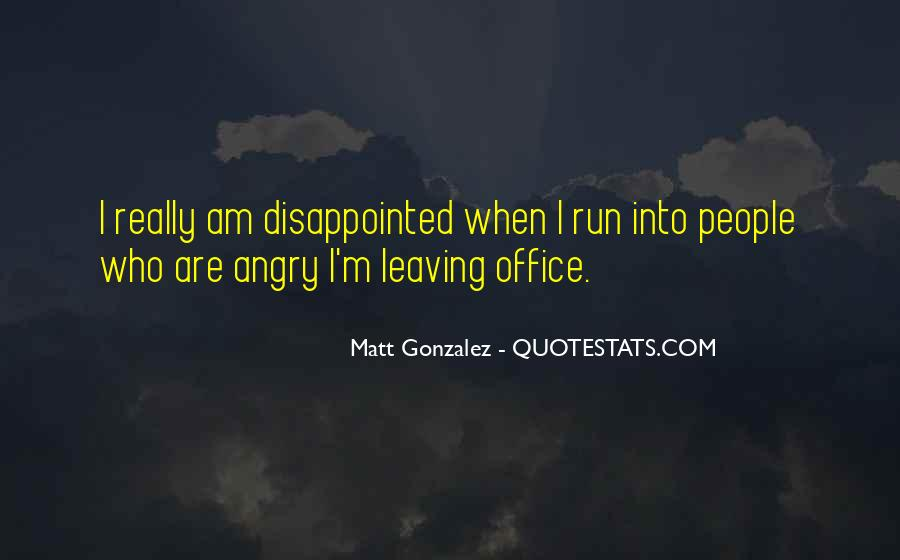 Quotes About Leaving The Office #1791676