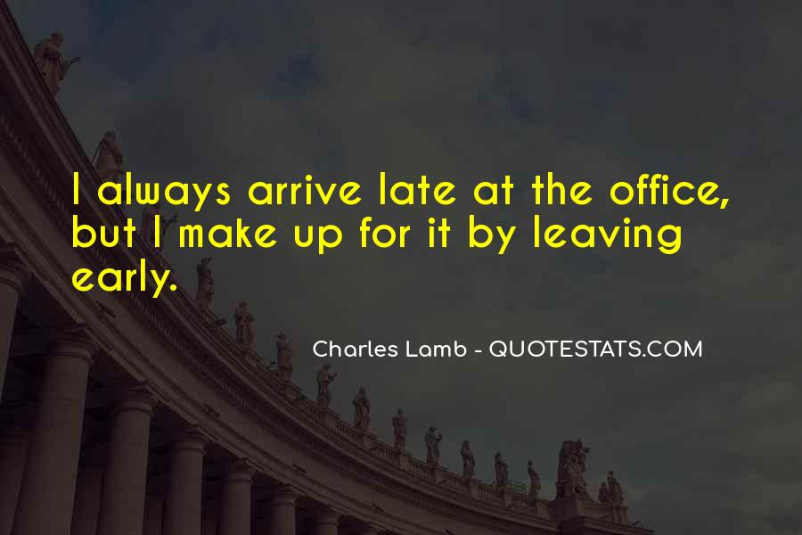 Quotes About Leaving The Office #893378