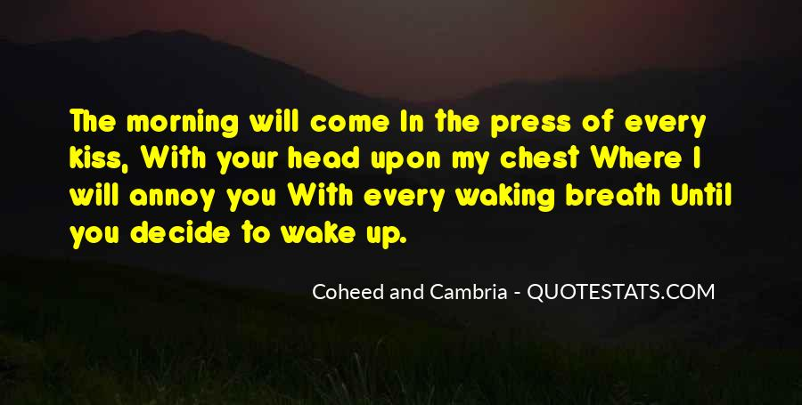 Coheed And Cambria Love Quotes #380569