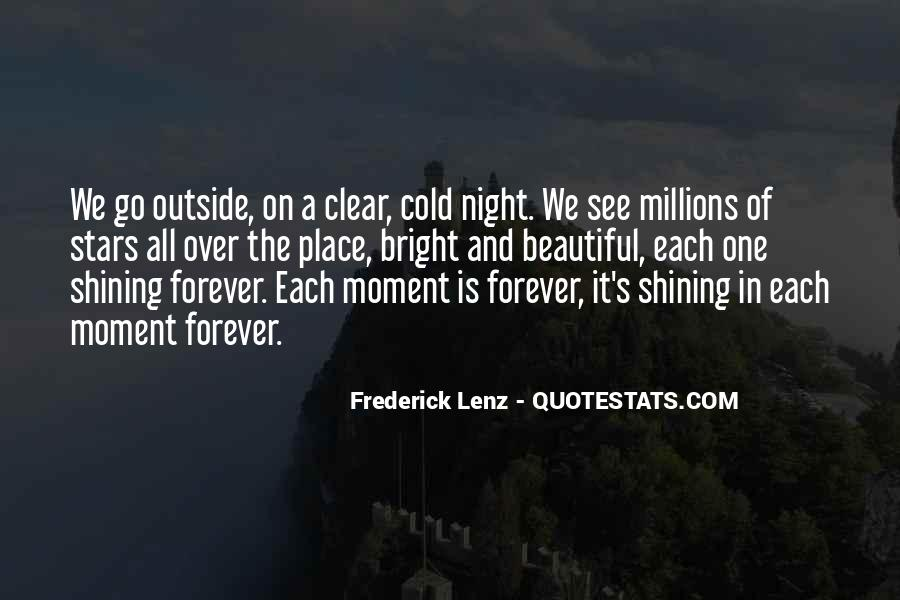 Cold And Beautiful Quotes #1744693