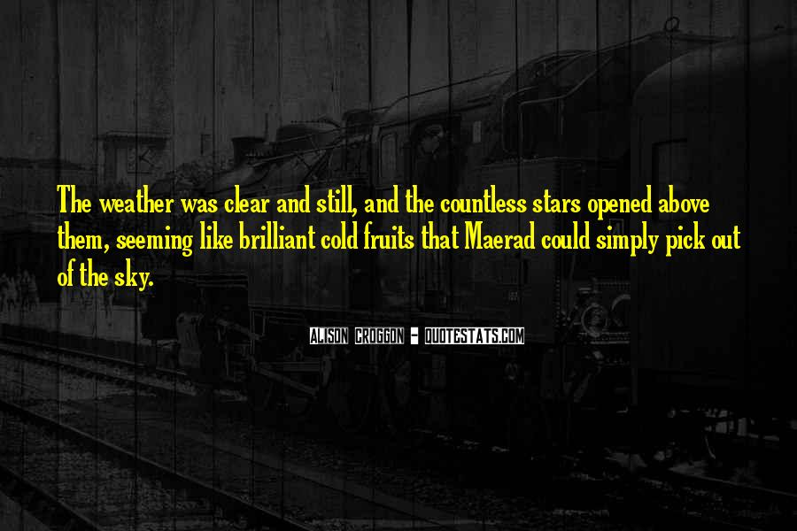 Cold And Beautiful Quotes #1745506