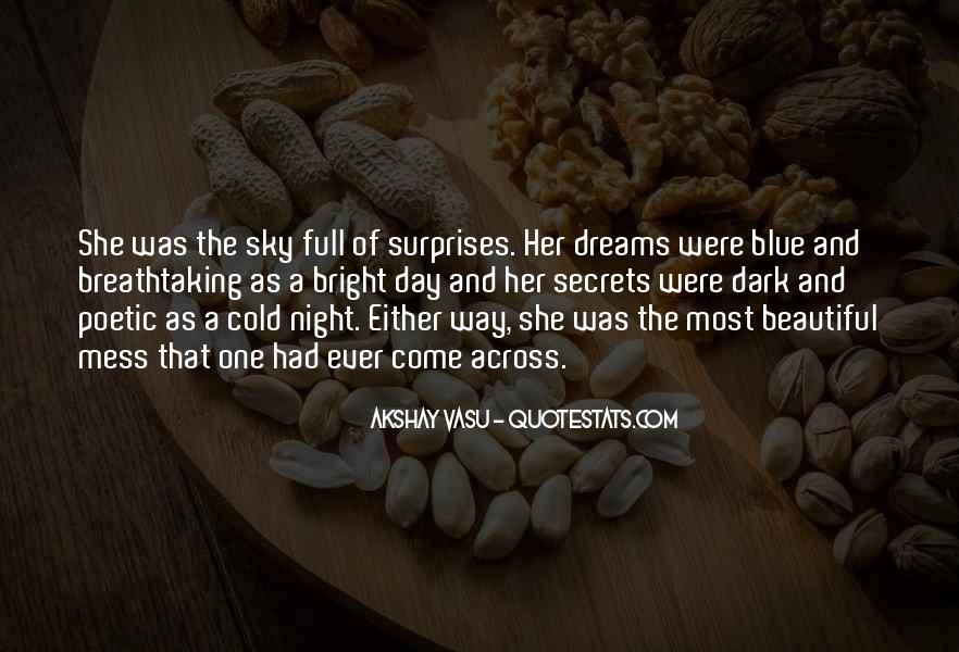 Cold And Beautiful Quotes #1833715