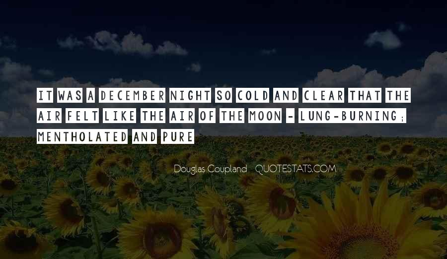 Cold And Beautiful Quotes #325557