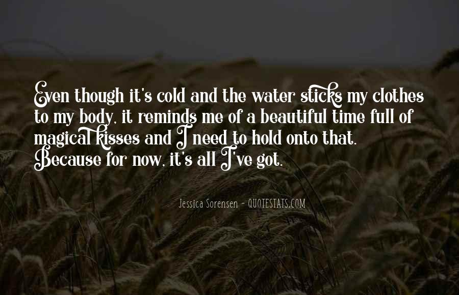 Cold And Beautiful Quotes #712849