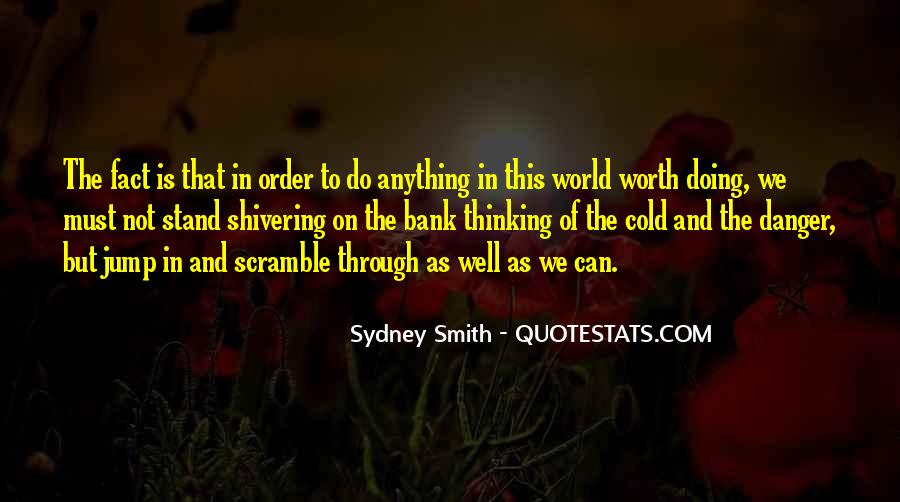 Cold Shivering Quotes #1475734