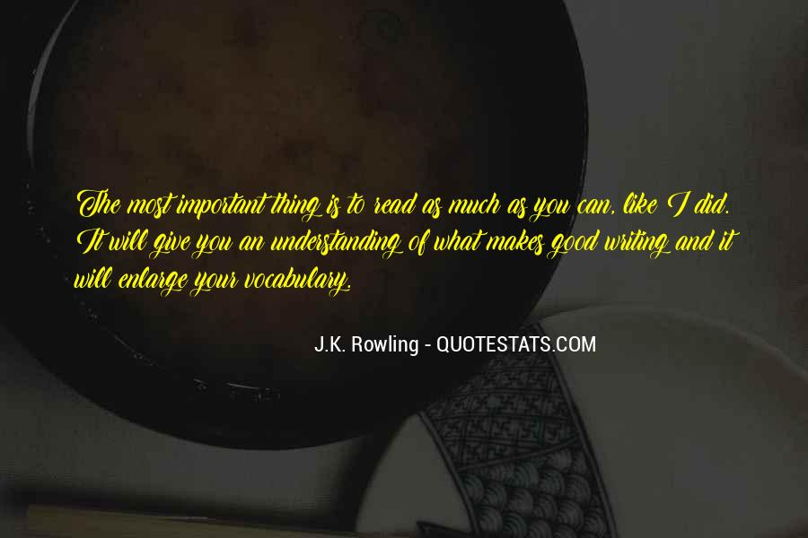 Quotes About Learning Vocabulary #1322799