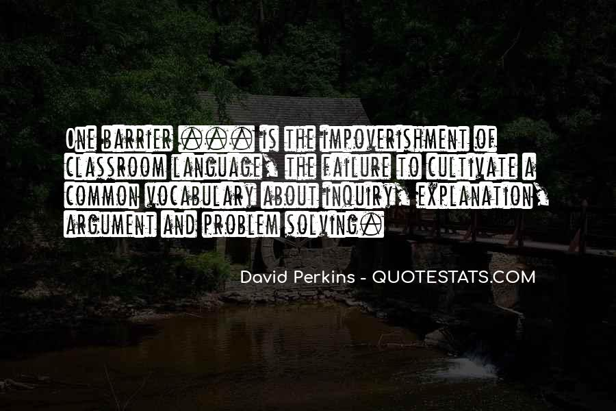 Quotes About Learning Vocabulary #1592714