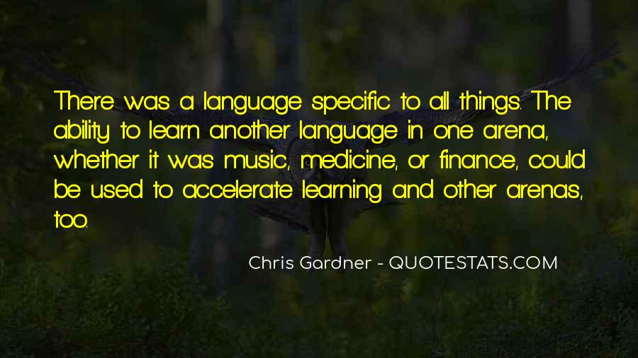 Quotes About Learning Vocabulary #1869401