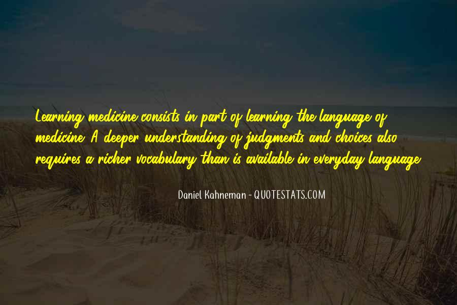 Quotes About Learning Vocabulary #325635