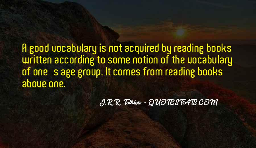 Quotes About Learning Vocabulary #657587