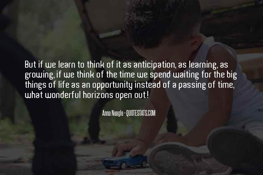 Quotes About Learning To Open Up #968130
