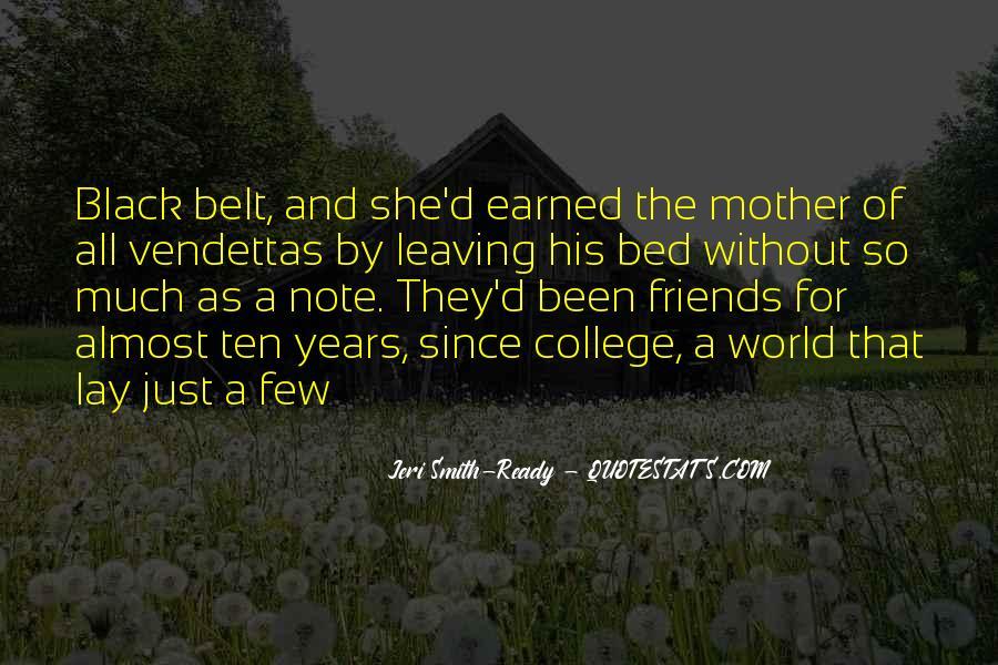 College Leaving Sad Quotes #1547073