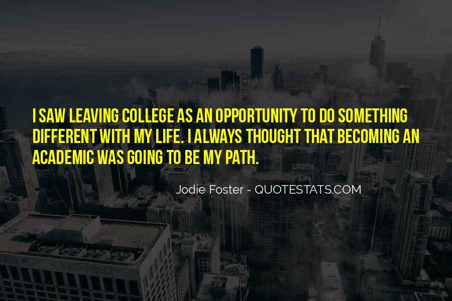 College Leaving Sad Quotes #885553