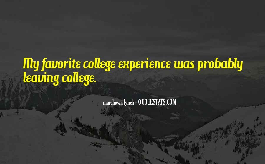 College Leaving Sad Quotes #904965
