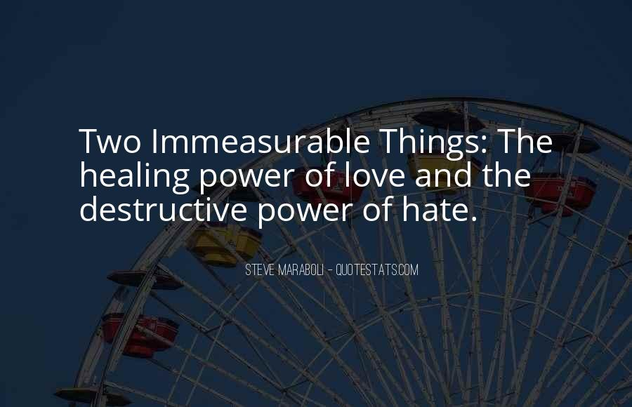 Quotes About The Power Of Hate #1328806