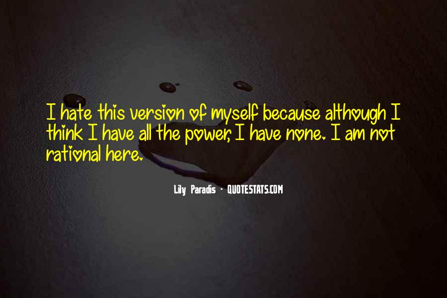 Quotes About The Power Of Hate #1613751