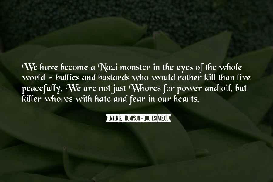 Quotes About The Power Of Hate #1879280