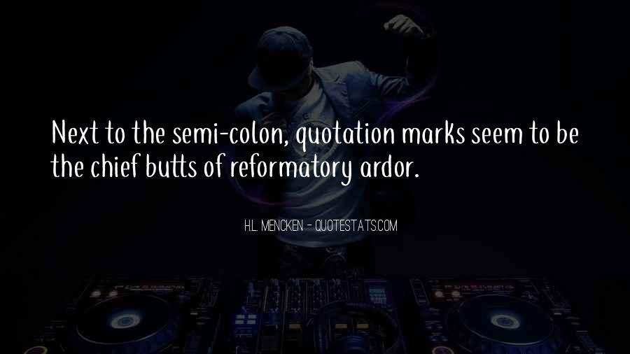 Colon Grammar Quotes #505072