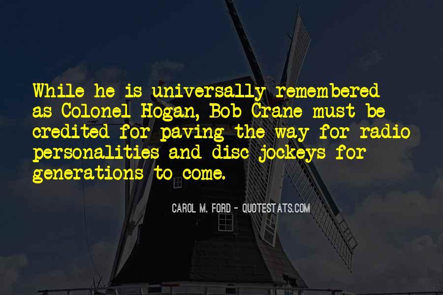 Colonel Hogan Quotes #687438