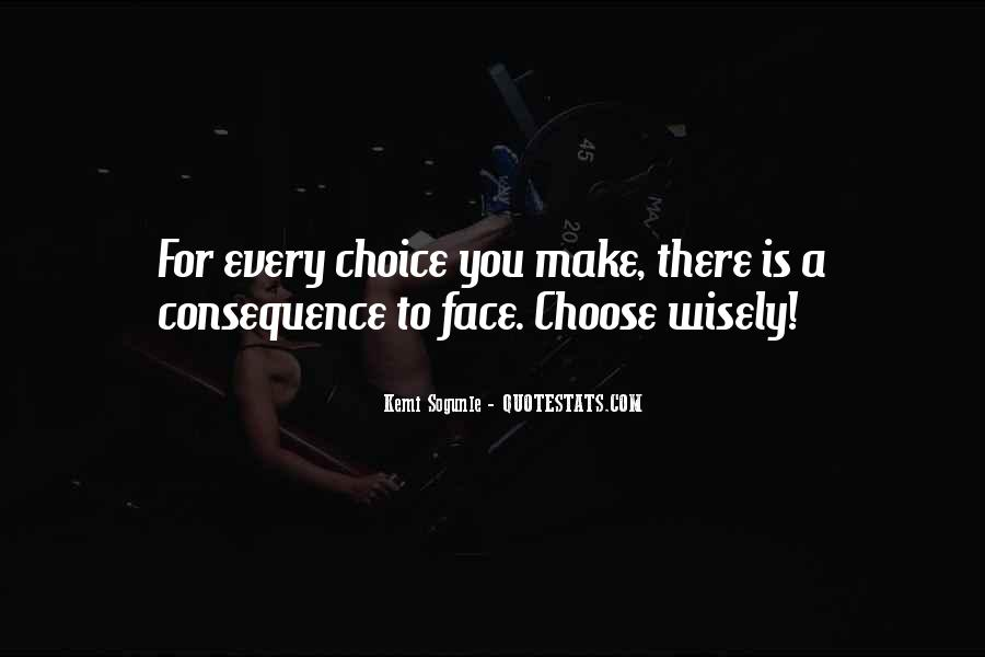 Quotes About Learning From Bad Choices #6051