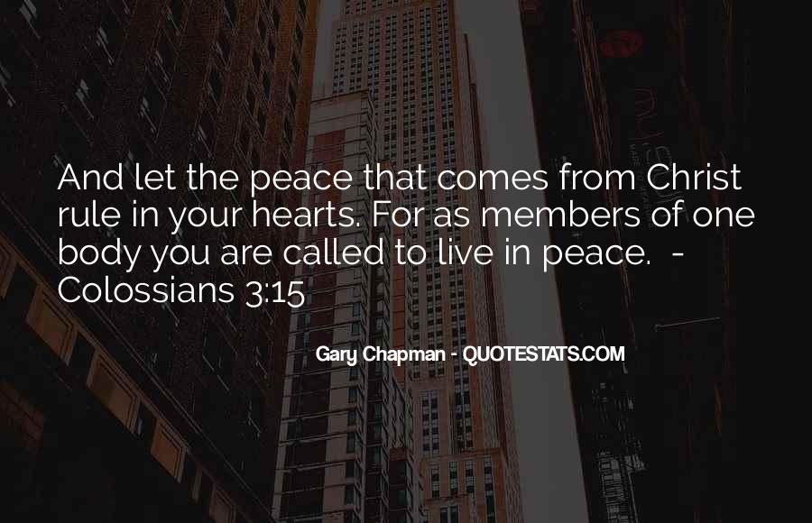 Colossians 3 Quotes #340060