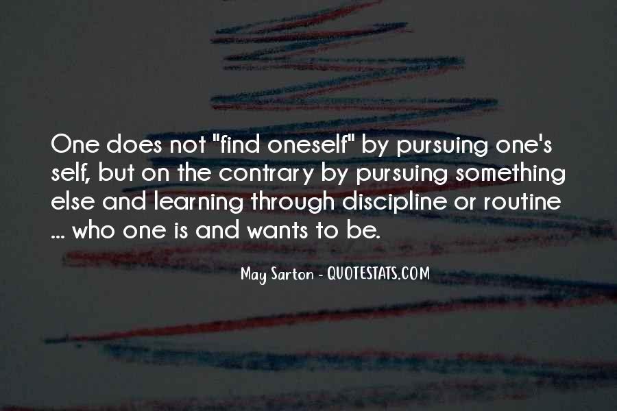 Quotes About Learning By Yourself #1514394