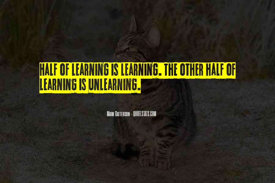 Quotes About Learning By Yourself #2955