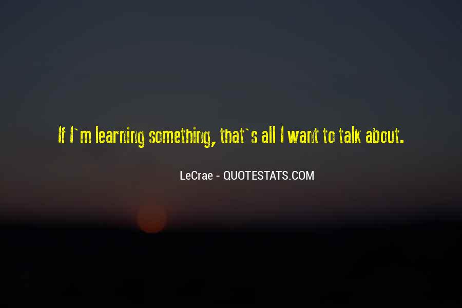 Quotes About Learning By Yourself #3939