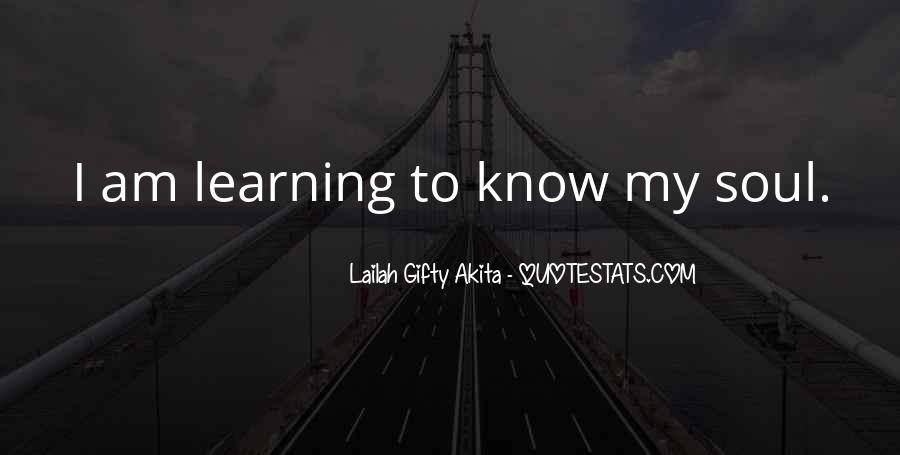 Quotes About Learning By Yourself #5912