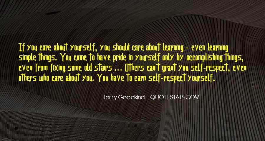 Quotes About Learning By Yourself #600291