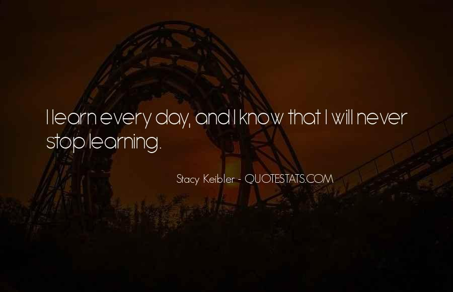 Quotes About Learning By Yourself #6366