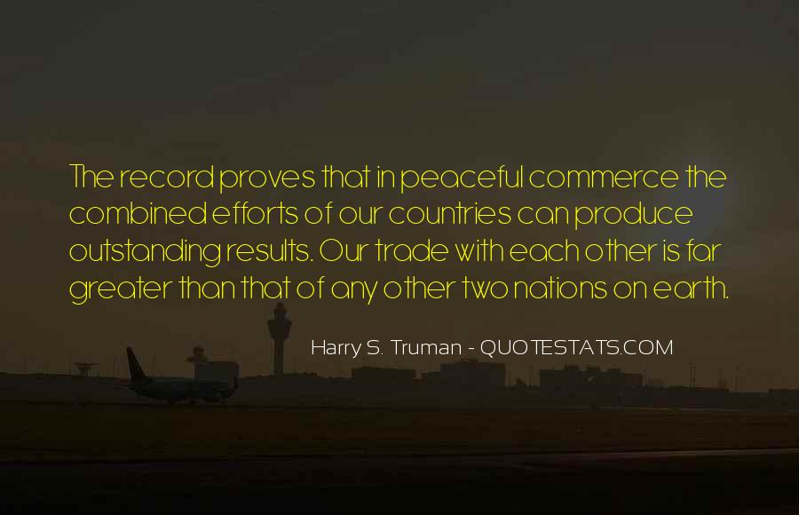 Combined Efforts Quotes #183166