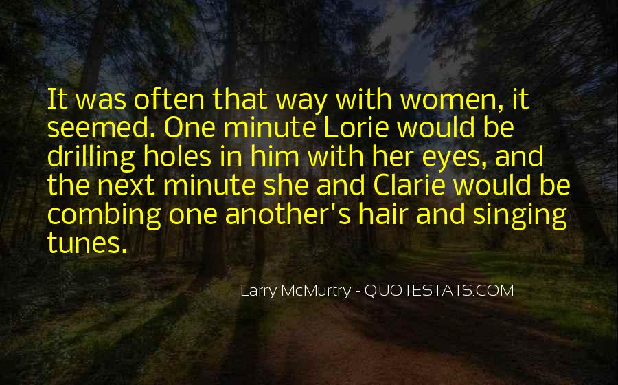 Combing Hair Quotes #1080443