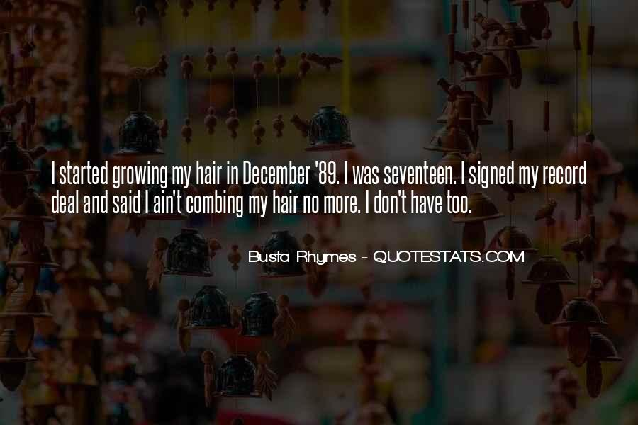 Combing Hair Quotes #202588