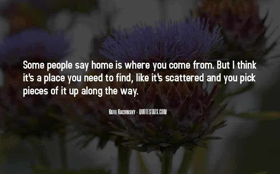 Come Along Way Quotes #302292