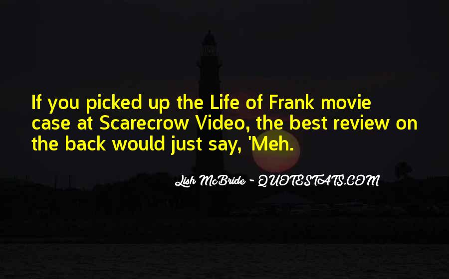 Come Back Movie Quotes #123330