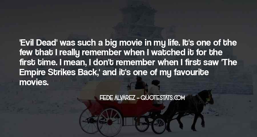 Come Back Movie Quotes #3371