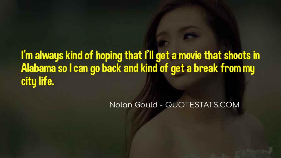 Come Back Movie Quotes #422604