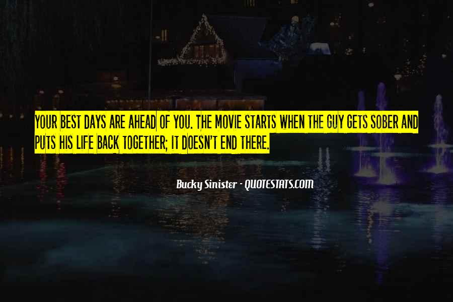 Come Back Movie Quotes #426896