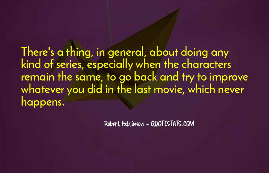 Come Back Movie Quotes #483036