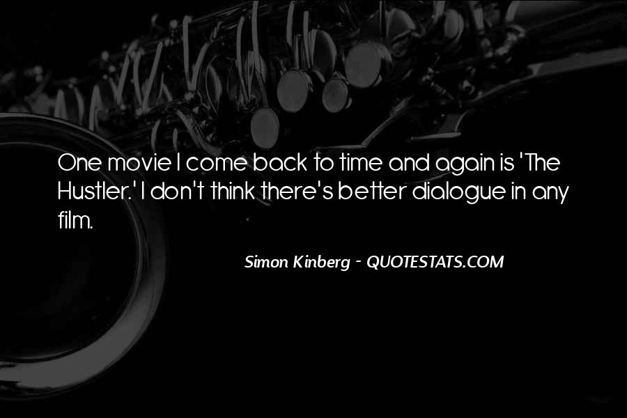Come Back Movie Quotes #496505
